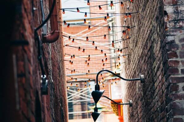 Lighting Street photo