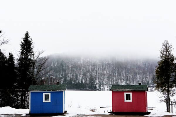Winter Cabins photo