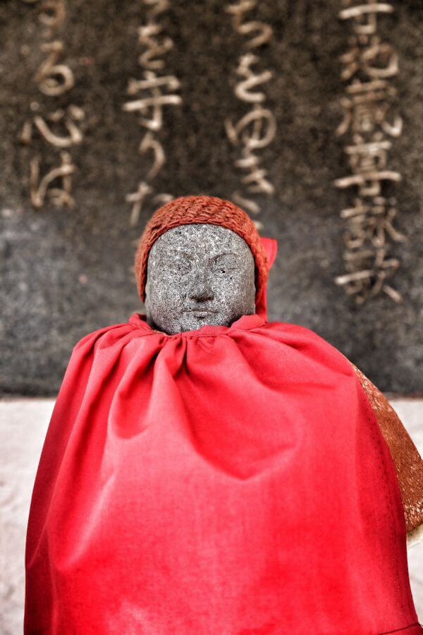 Small Japanese Statue photo