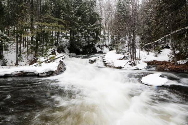Winter Running River photo