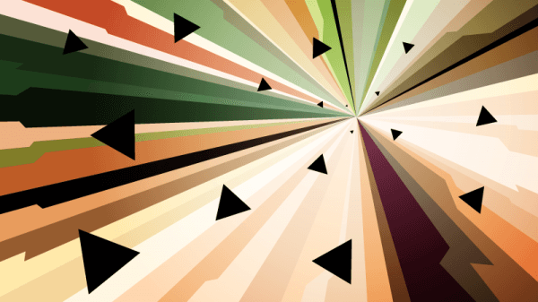 Flying Triangles vector