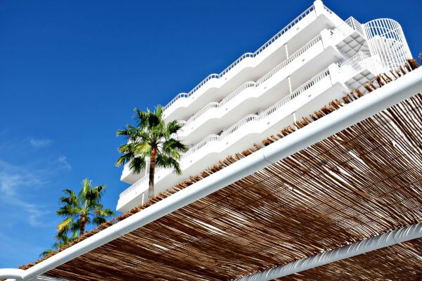 Beach White Building photo