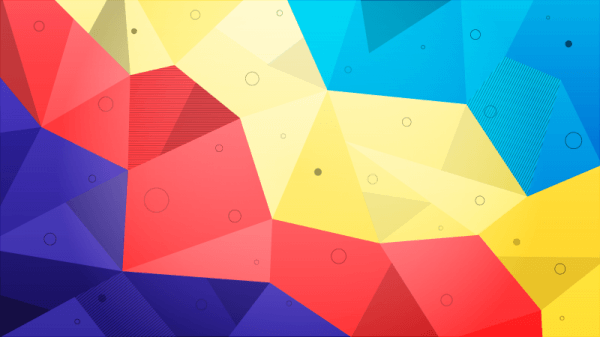 Abstract Polygons vector