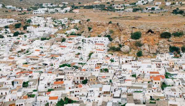 Dazzling White Village photo
