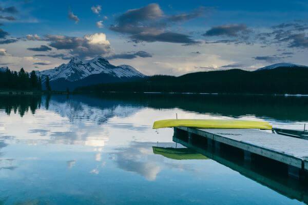 Lake Reflection photo