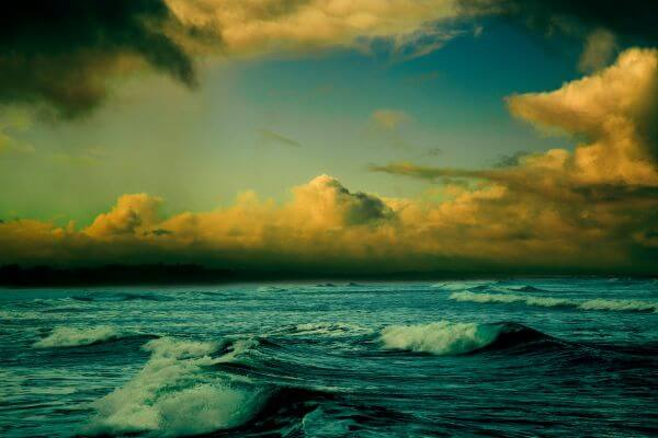 Colorful Seascape photo