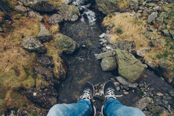 Tiny River Top View photo