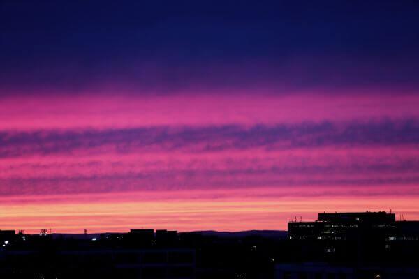 Colored sky photo