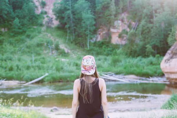 Colored cap photo