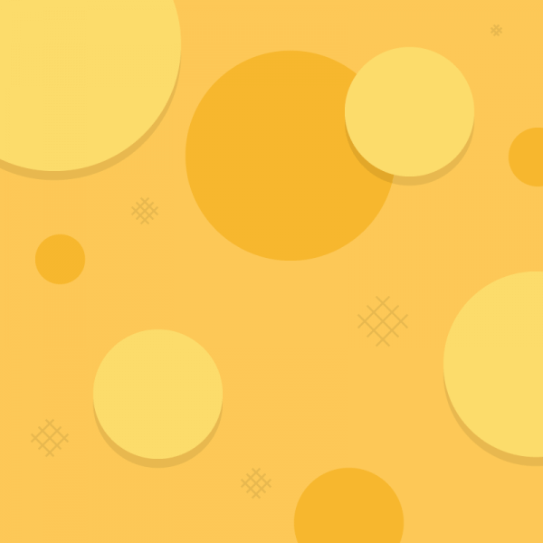 Simple Orange Circles vector