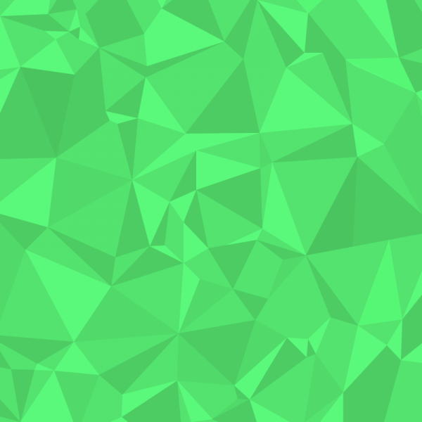 Green Polygons vector
