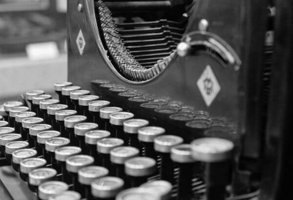 Typewriter photo