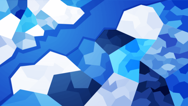 Icy Polygons vector