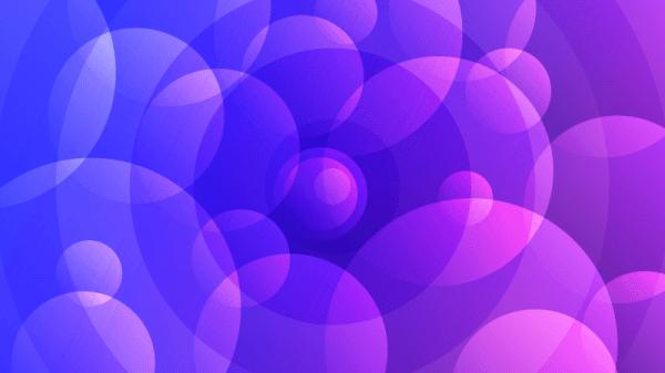 Abstract Purple Circles