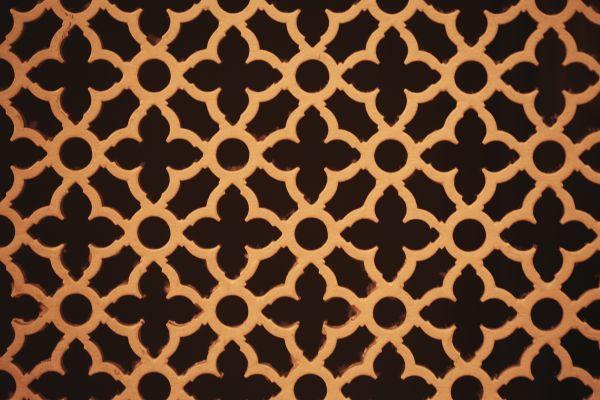Gold pattern photo