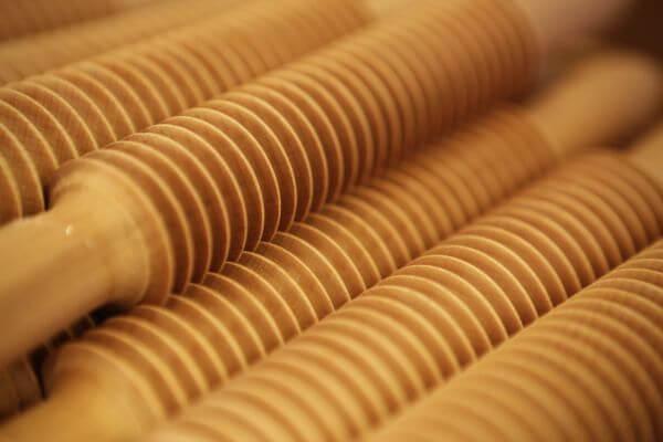 Wood rolls photo