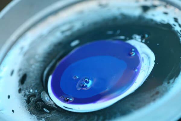 Drop of paint photo