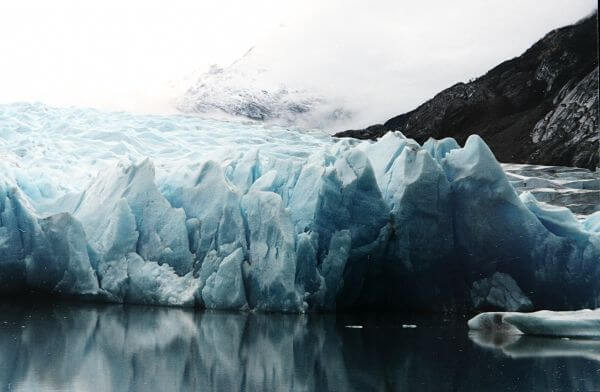 Glacier in Chile photo