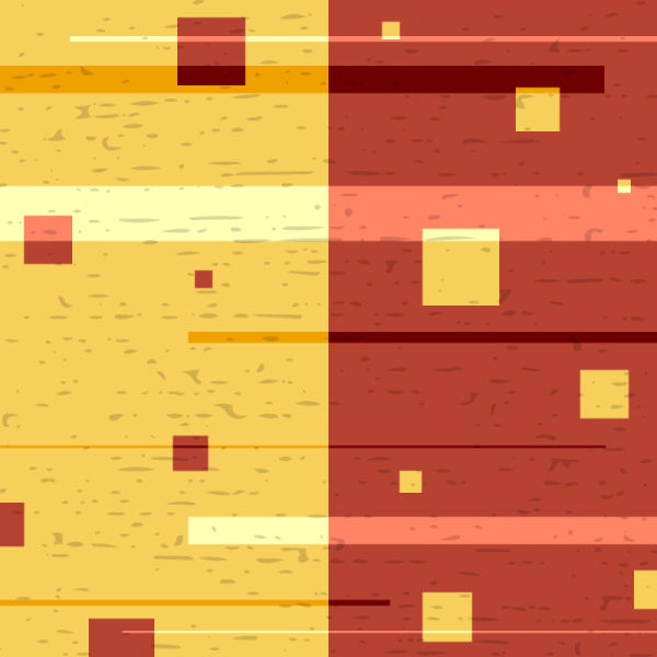 Yellow and Red Abstraction with Subtle Texture vector