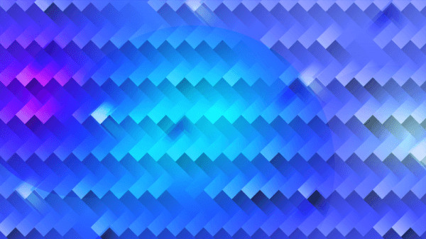 Bright Blue Abstraction vector