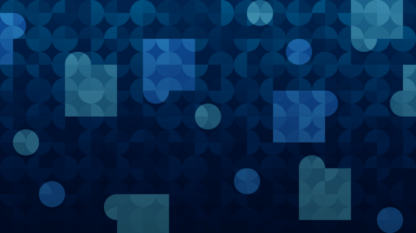 Dark Blue Abstraction vector