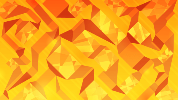Orange Abstract Ribbons vector