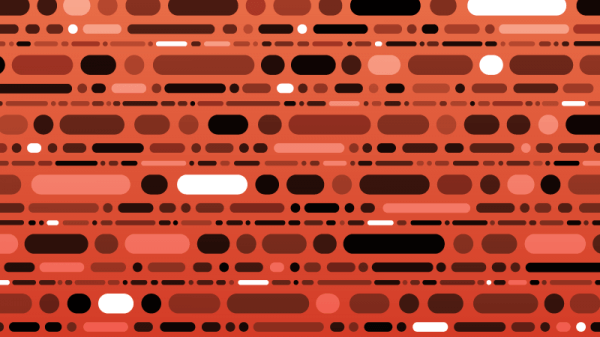 Abstract Morse Code Pattern vector