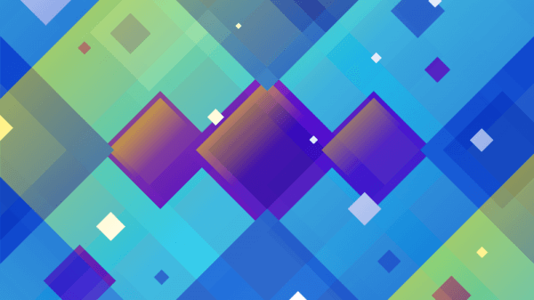 Abstract Angled Squares