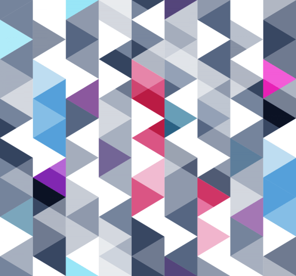 Triangles Pattern vector