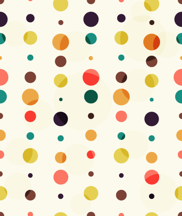 Colorful Dots Pattern vector