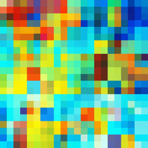 Colorful Pixel Pattern vector