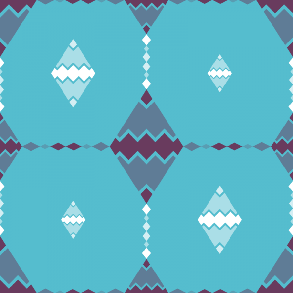 Abstract Zig Zag Pattern vector