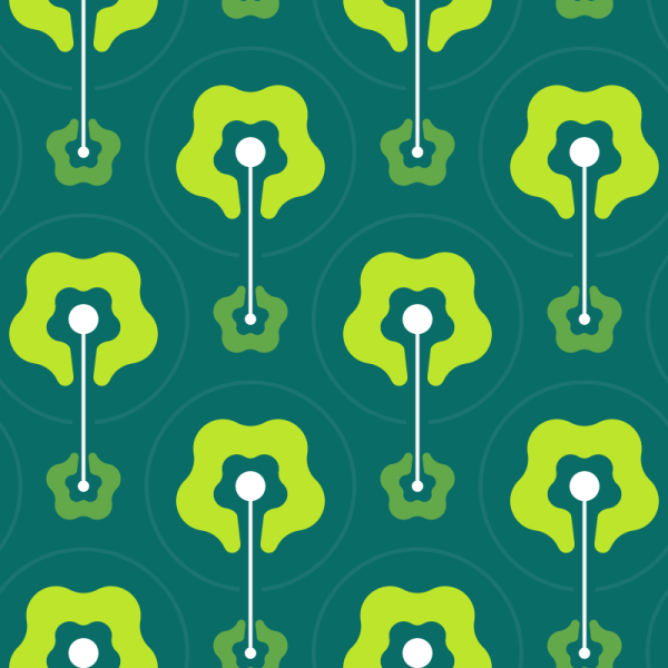 Green Abstract Pattern vector