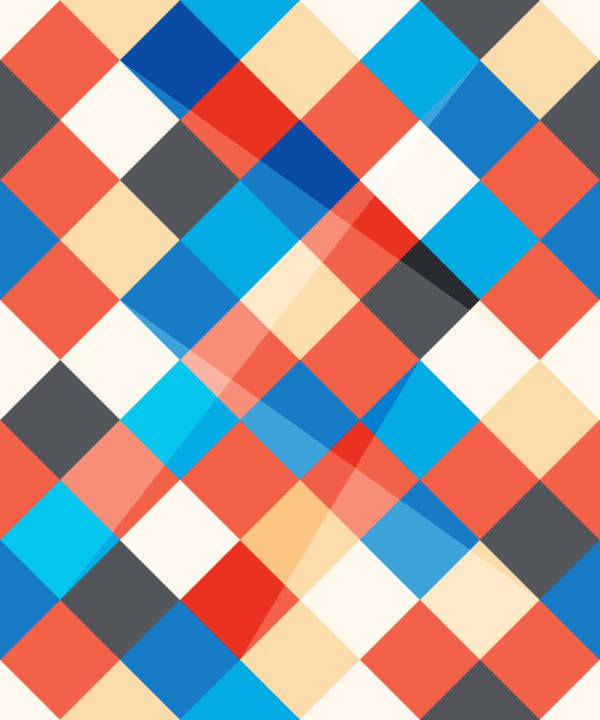 Abstract Angled Squares Pattern vector