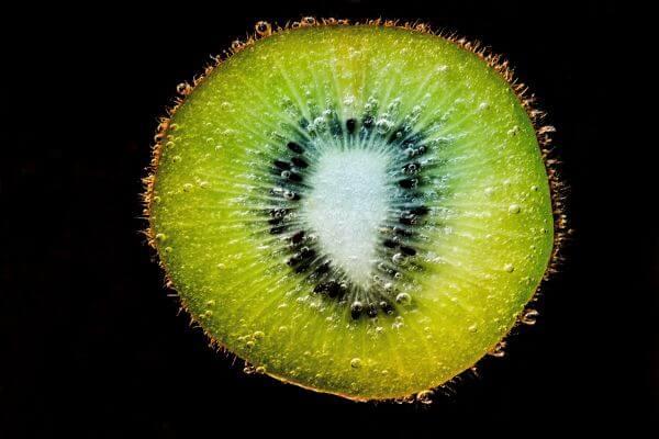 Fruit Against Black Background photo
