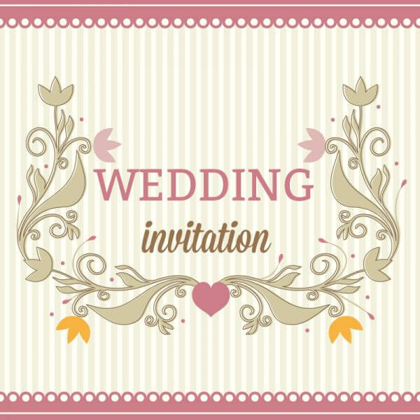 Wedding vector illustration vector