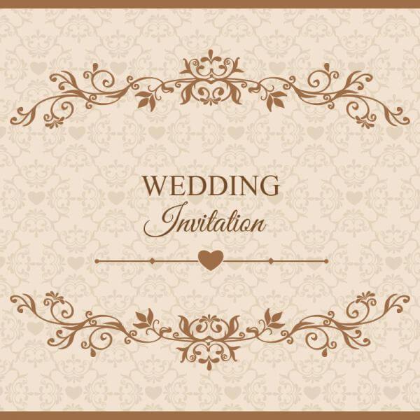 Wedding vector illustration vector