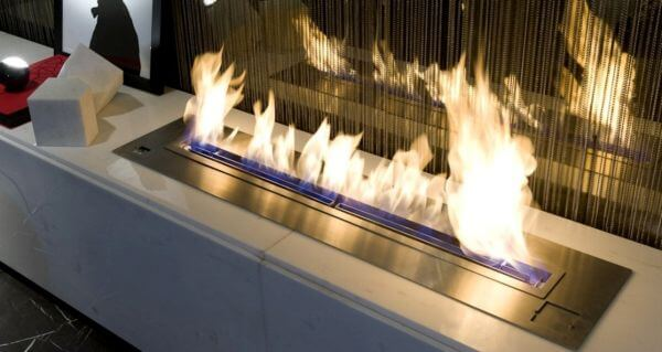 Bioethanol burner photo