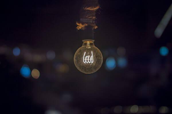 Illuminated Light Bulb photo