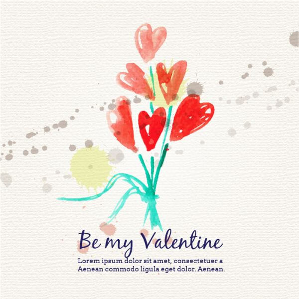 Happy Valentine's Day vector illustration vector