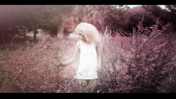 Blonde photo