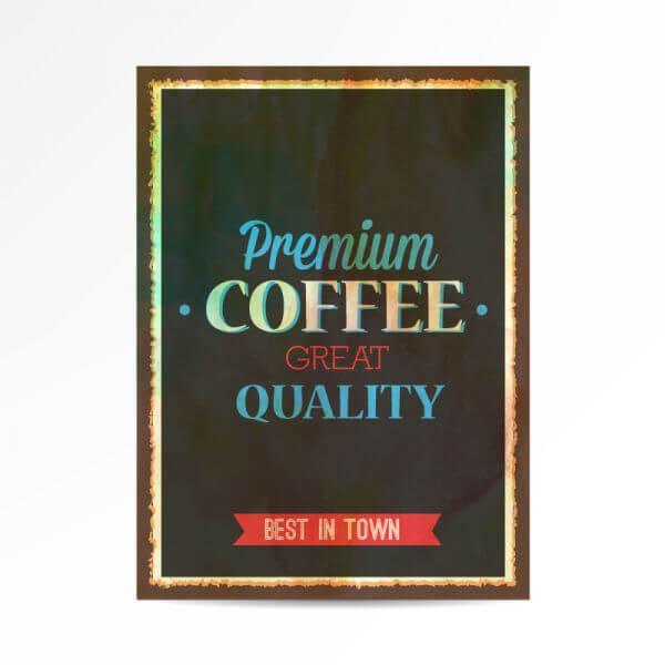 Vintage typography illustration vector