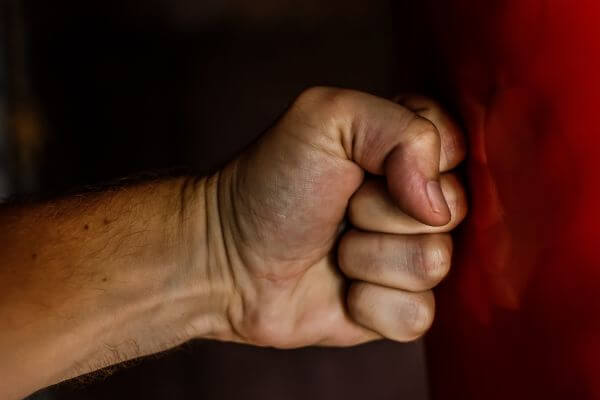 Clenched fist photo