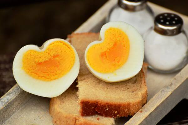 Boiled egg photo