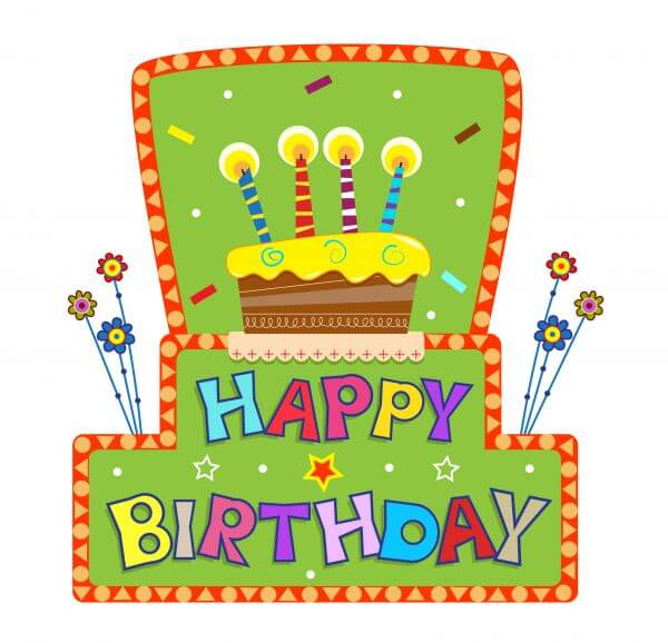 Birthday Sign vector