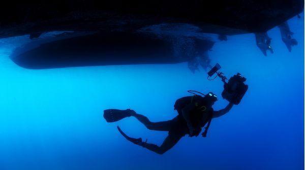 Diver photo