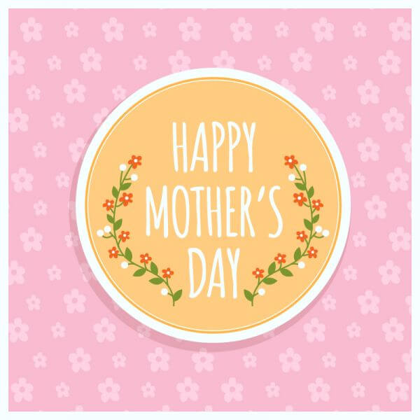 Happy Mother's day Illustration vector