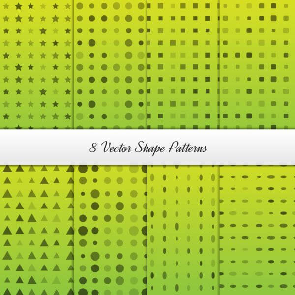 Geometrical Patterns Set vector