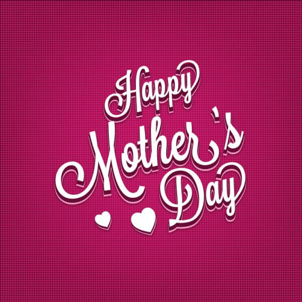 Mother's day Typography Illustration vector