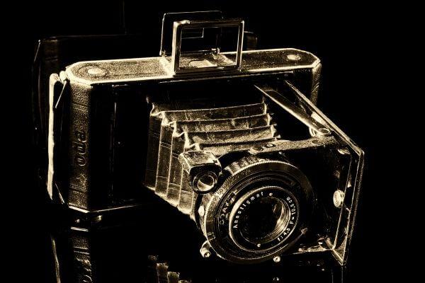 Analog camera photo